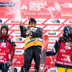 Swatch Freeride World Tour by The North Face 2015: The best riders on the best mountains in the ultimate freeride competition. In 2015, the Swatch Freeride World Tour goes into its 8th season and consists of six (5) stops in Chamonix-Mont-Blanc (France), Fieberbrunn Kitzbüheler Alpen (Austria), Vallnord Arcalis (Andorra), Haines Alaska (USA) and the final in Verbier (Switzerland). www.freerideworldtour.com